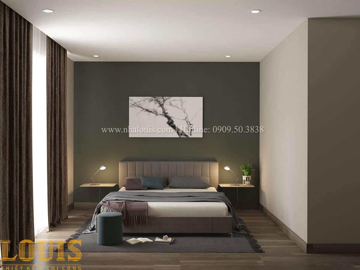 Phòng ngủ Phòng ngủ Nhà ống mặt tiền 4m phong cách hiện đại tại Quận Bình Thạnh - 31