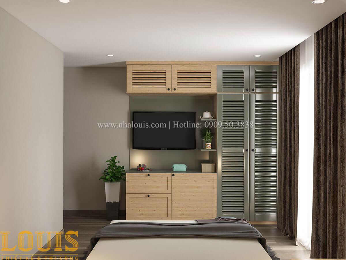 Phòng ngủ Nhà ống mặt tiền 4m phong cách hiện đại tại Quận Bình Thạnh - 32