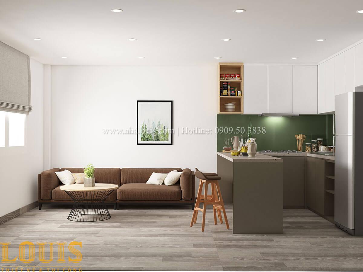 Phòng khách Nhà ống mặt tiền 4m phong cách hiện đại tại Quận Bình Thạnh - 33