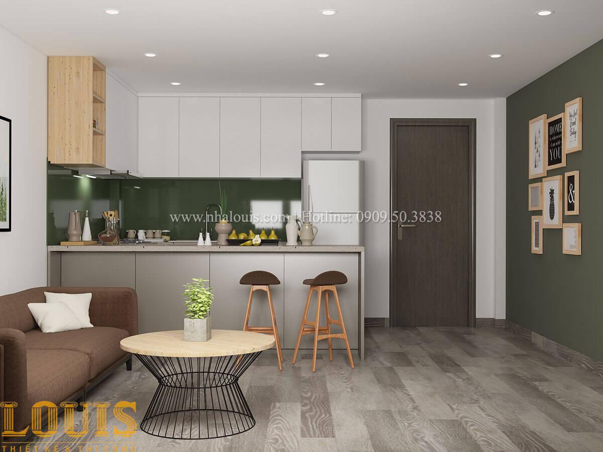Bếp và phòng ăn Nhà ống mặt tiền 4m phong cách hiện đại tại Quận Bình Thạnh - 35