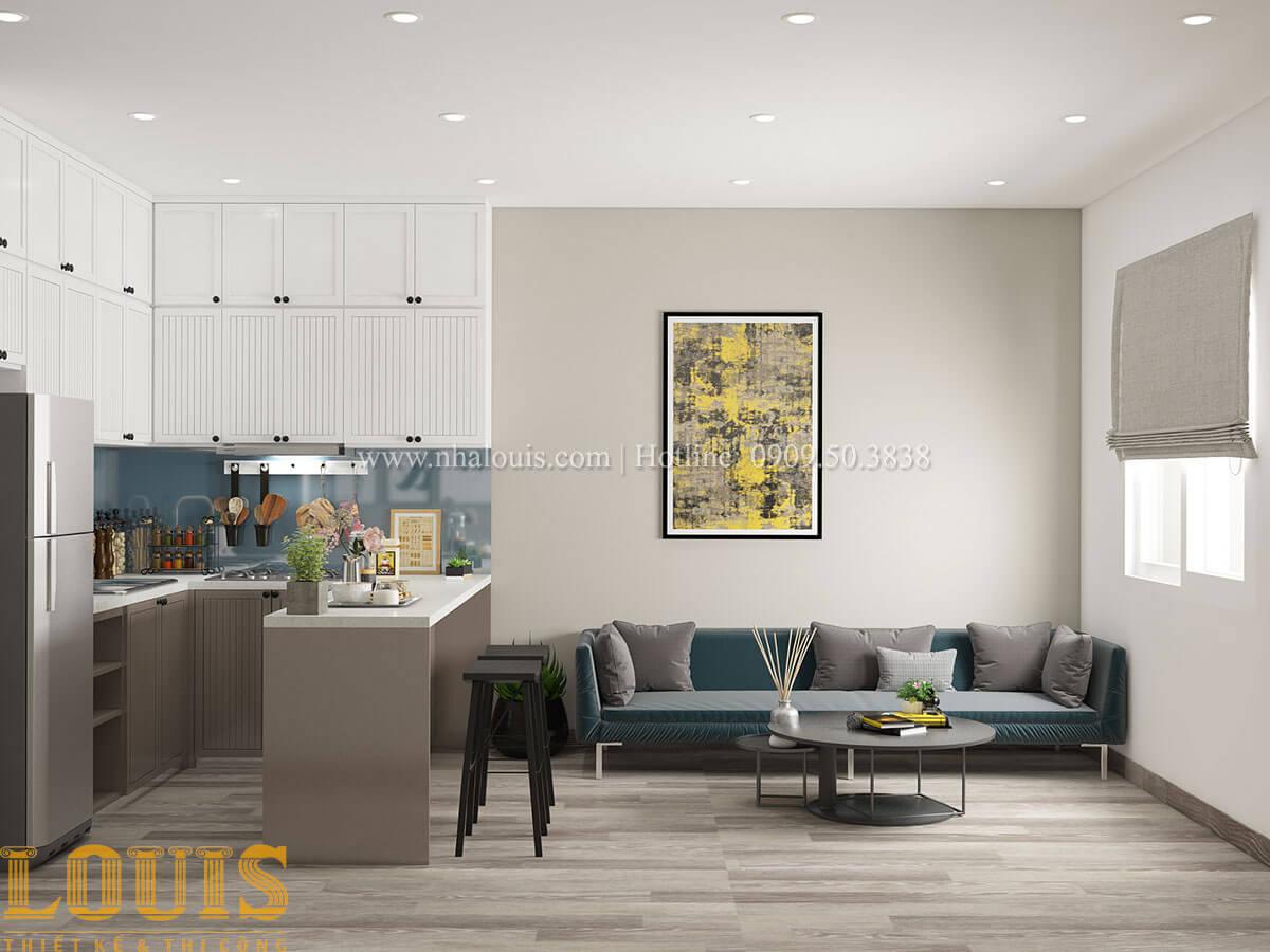 Phòng khách Nhà ống mặt tiền 4m phong cách hiện đại tại Quận Bình Thạnh - 38