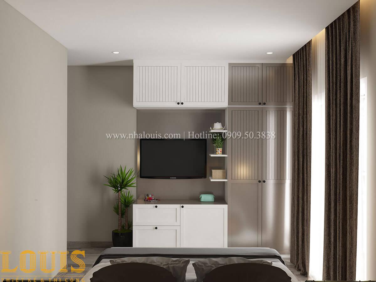 Phòng ngủ Nhà ống mặt tiền 4m phong cách hiện đại tại Quận Bình Thạnh - 42