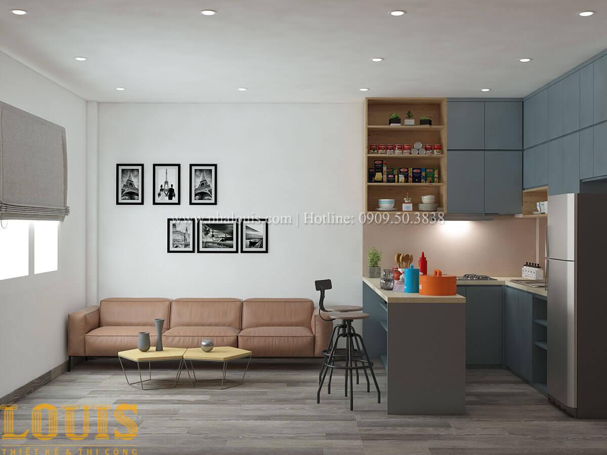 Phòng khách Nhà ống mặt tiền 4m phong cách hiện đại tại Quận Bình Thạnh - 43