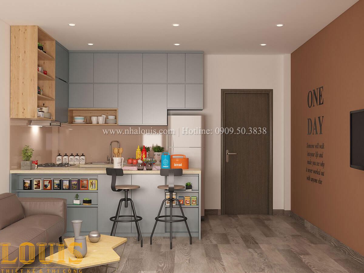 Bếp và phòng ăn Nhà ống mặt tiền 4m phong cách hiện đại tại Quận Bình Thạnh - 45