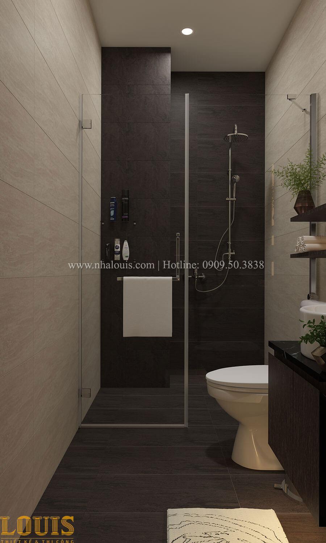Phòng tắm và WC Nhà ống mặt tiền 4m phong cách hiện đại tại Quận Bình Thạnh - 49