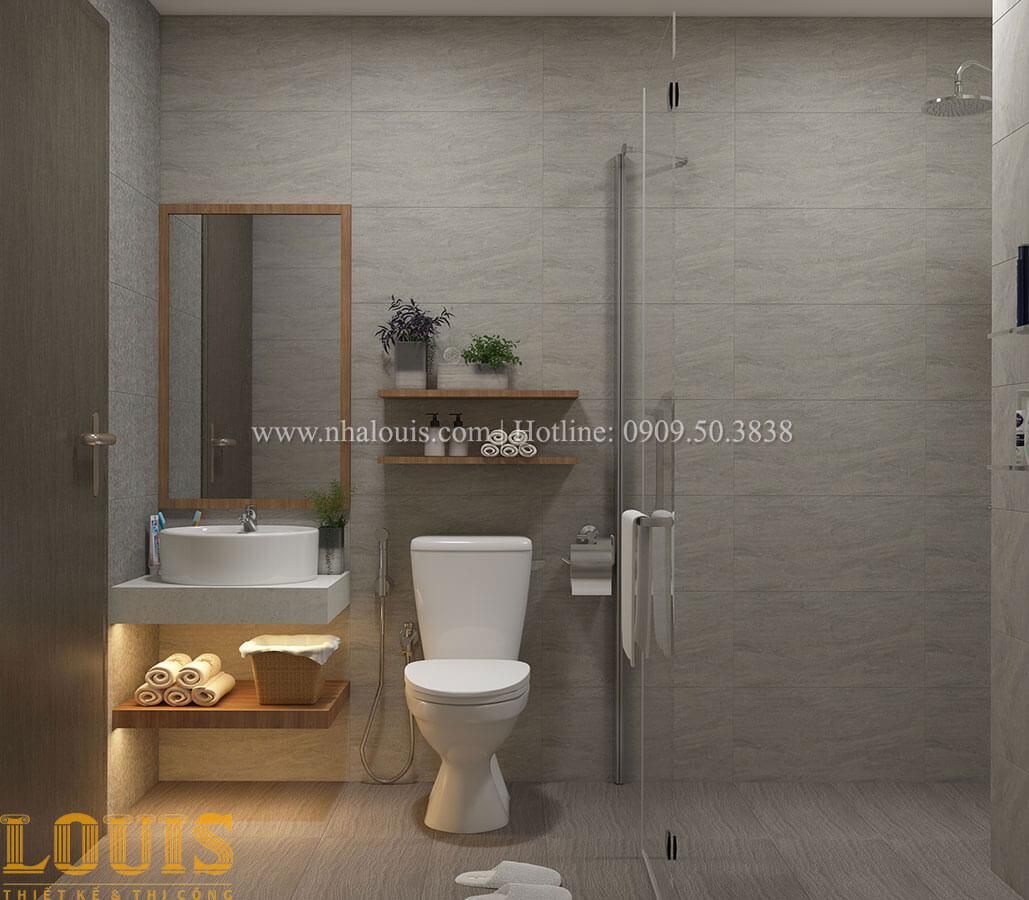 Phòng tắm và WC Nhà ống mặt tiền 4m phong cách hiện đại tại Quận Bình Thạnh - 50