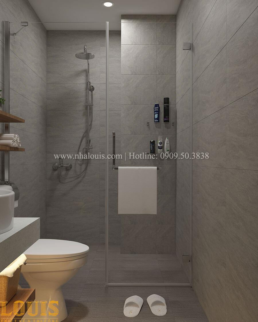 Phòng tắm và WC Nhà ống mặt tiền 4m phong cách hiện đại tại Quận Bình Thạnh - 51