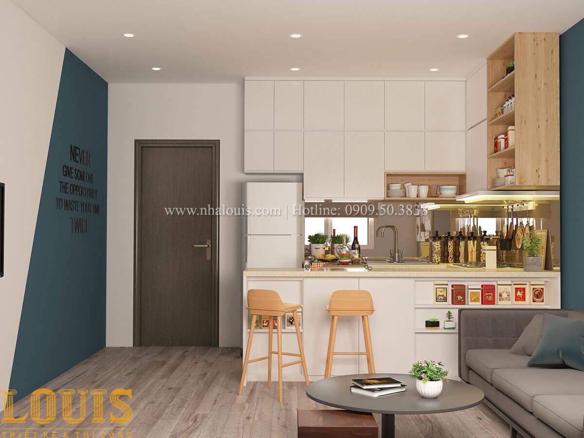 Bếp và phòng ăn Nhà ống mặt tiền 4m phong cách hiện đại tại Quận Bình Thạnh - 53