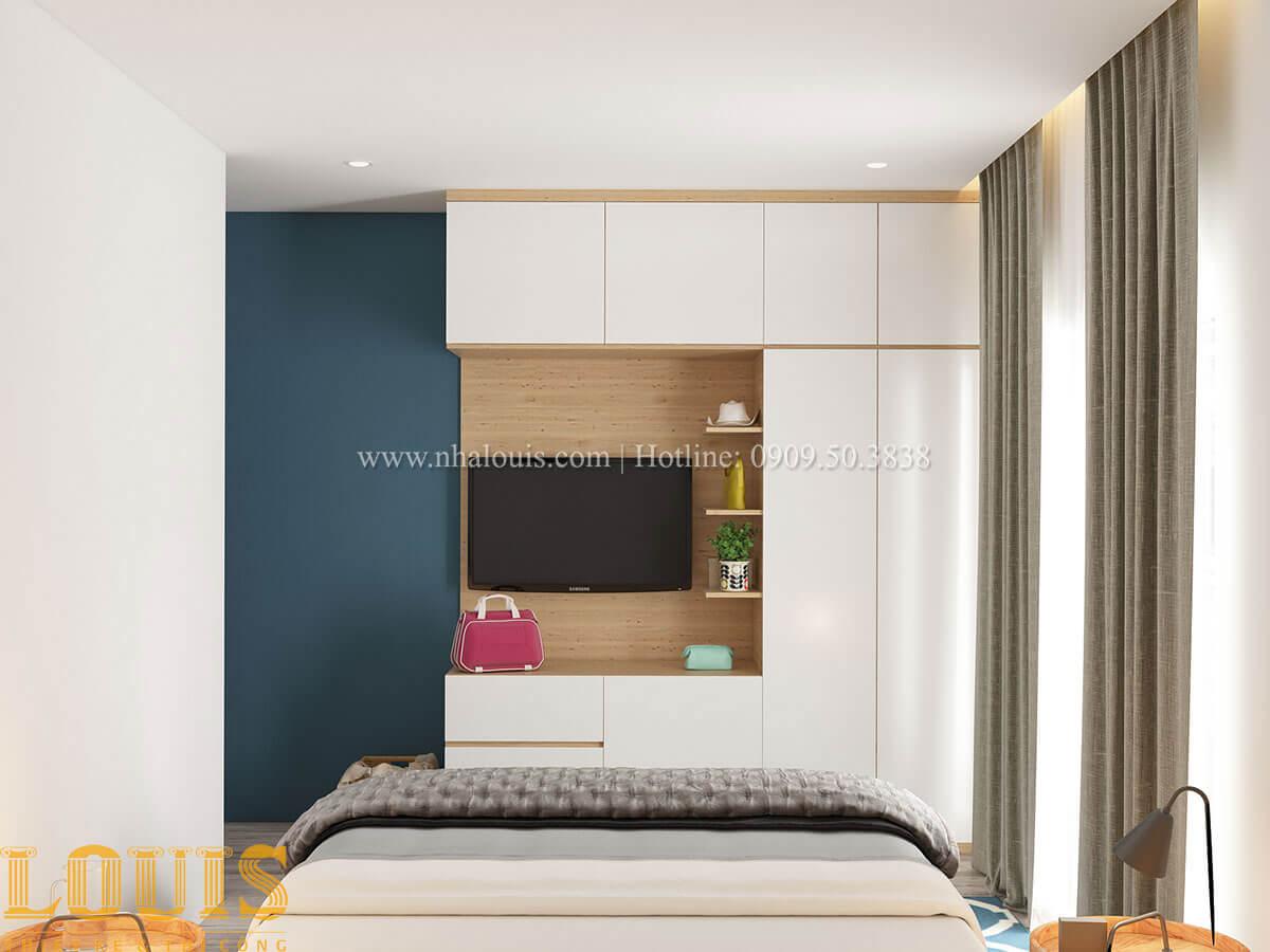 Phòng ngủ Nhà ống mặt tiền 4m phong cách hiện đại tại Quận Bình Thạnh - 56