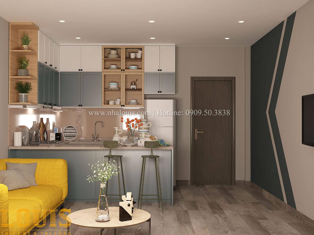 Bếp và phòng ăn Nhà ống mặt tiền 4m phong cách hiện đại tại Quận Bình Thạnh - 58