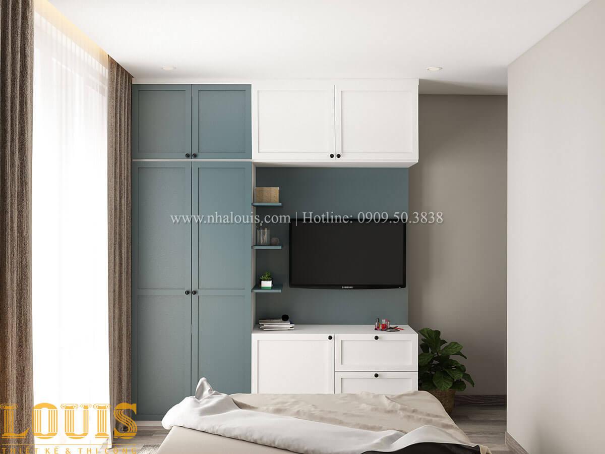Phòng ngủ Nhà ống mặt tiền 4m phong cách hiện đại tại Quận Bình Thạnh - 61