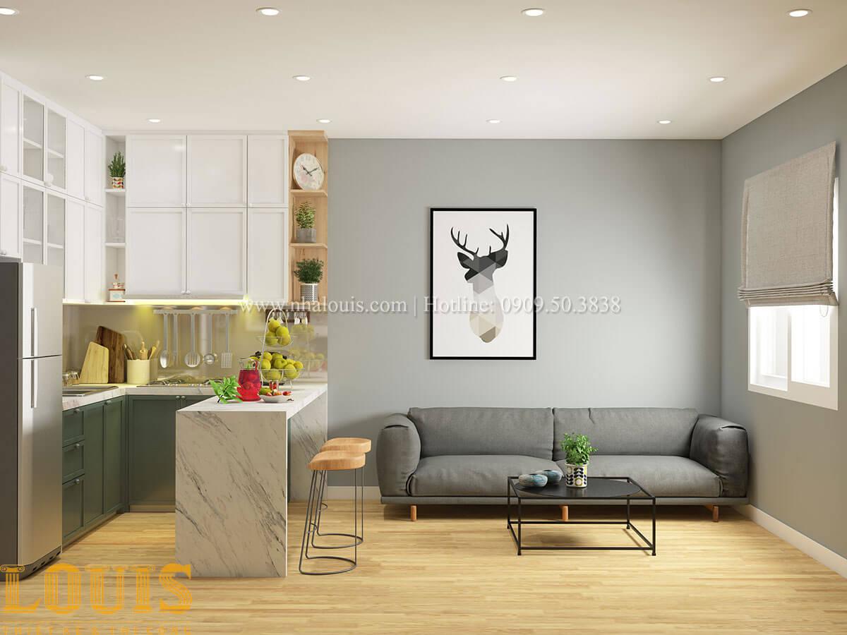 Phòng khách Nhà ống mặt tiền 4m phong cách hiện đại tại Quận Bình Thạnh - 62