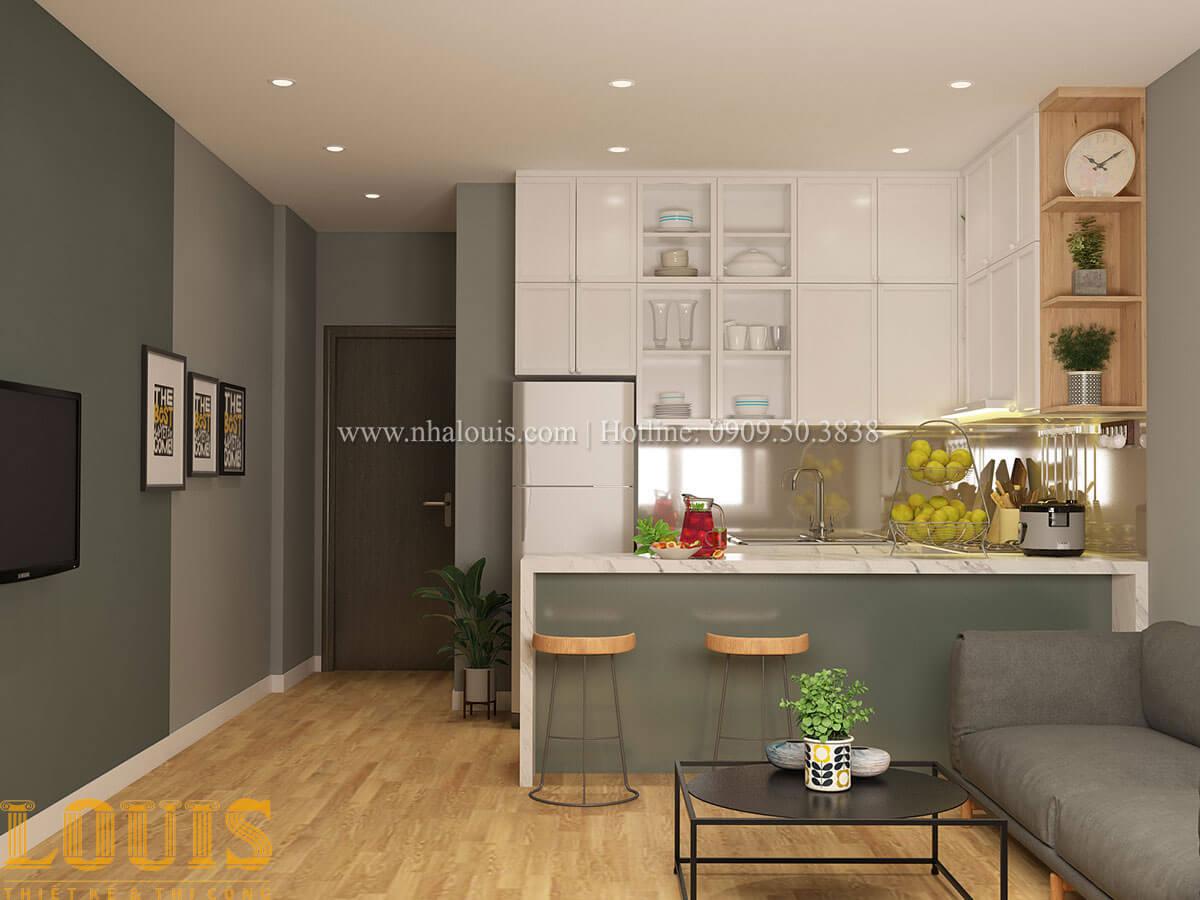 Bếp và phòng ăn Nhà ống mặt tiền 4m phong cách hiện đại tại Quận Bình Thạnh - 63