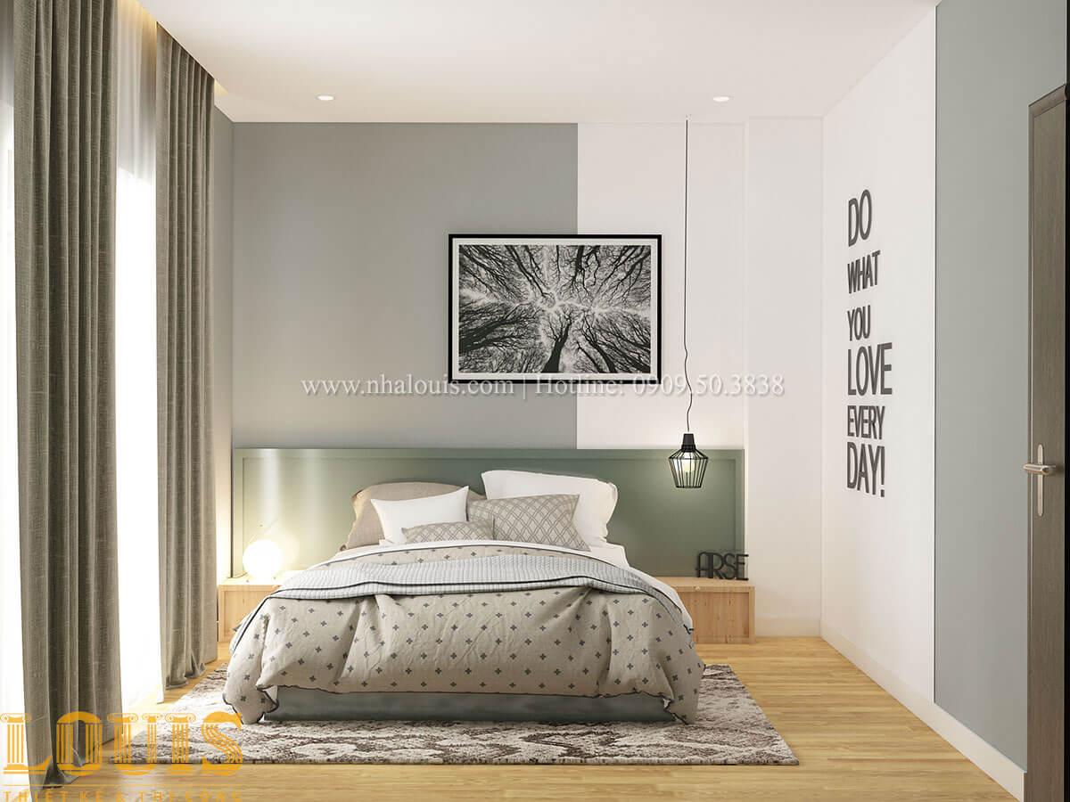 Phòng ngủ Nhà ống mặt tiền 4m phong cách hiện đại tại Quận Bình Thạnh - 65