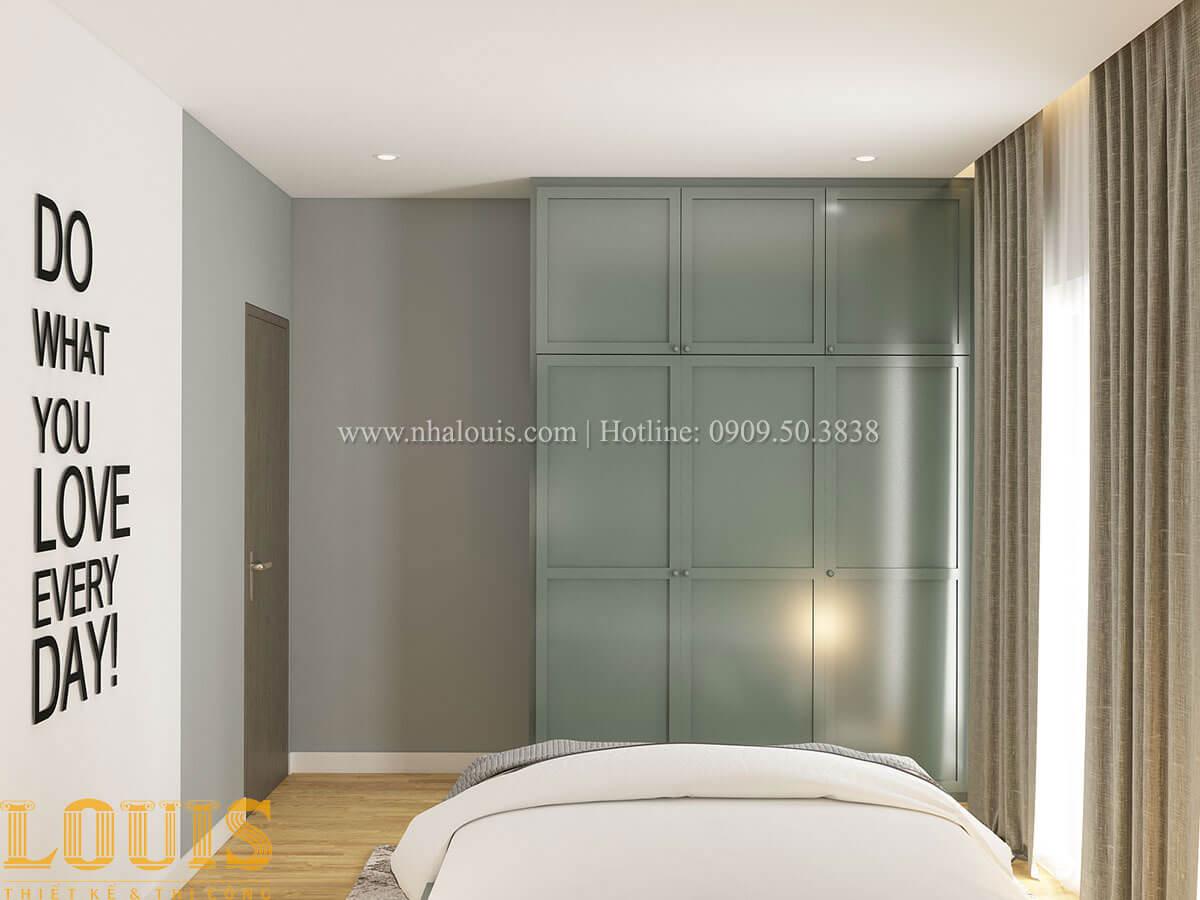 Phòng ngủ Nhà ống mặt tiền 4m phong cách hiện đại tại Quận Bình Thạnh - 66