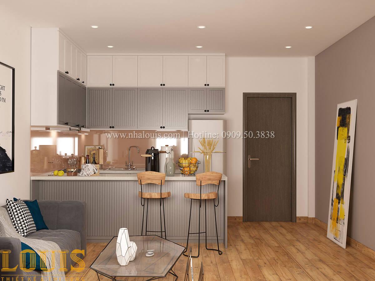 Bếp và phòng ăn Nhà ống mặt tiền 4m phong cách hiện đại tại Quận Bình Thạnh - 69