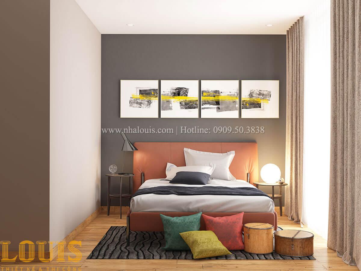 Phòng ngủ Nhà ống mặt tiền 4m phong cách hiện đại tại Quận Bình Thạnh - 70