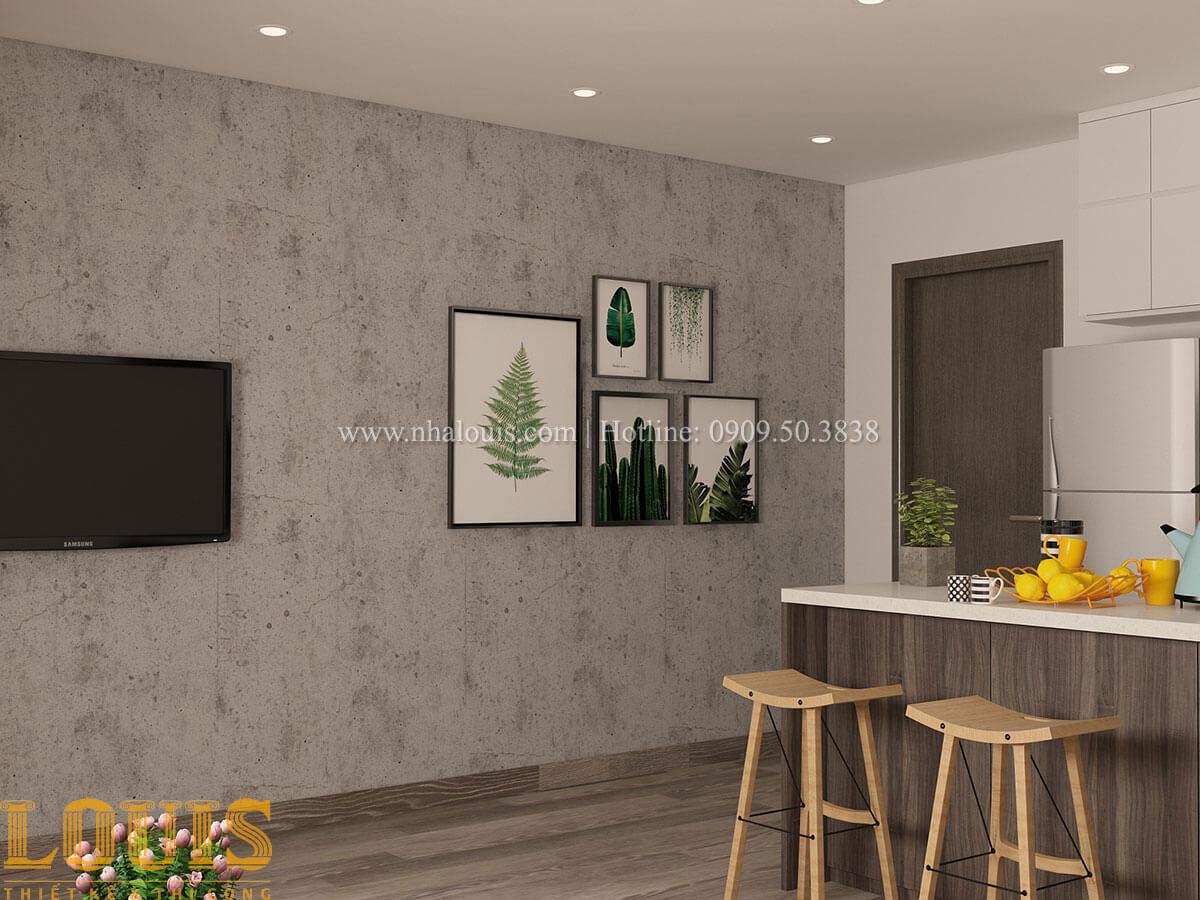 Phòng khách Nhà ống mặt tiền 4m phong cách hiện đại tại Quận Bình Thạnh - 72
