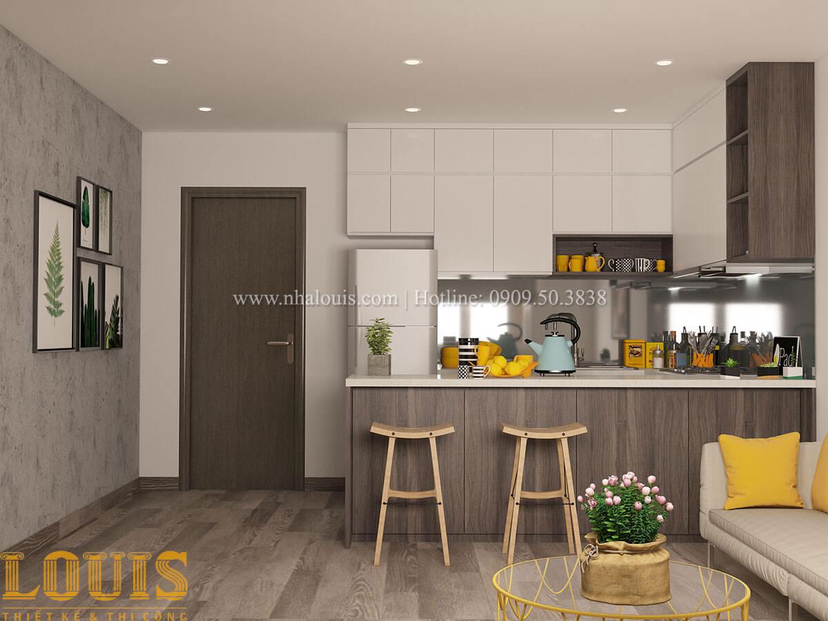 Bếp và phòng ăn Nhà ống mặt tiền 4m phong cách hiện đại tại Quận Bình Thạnh - 73