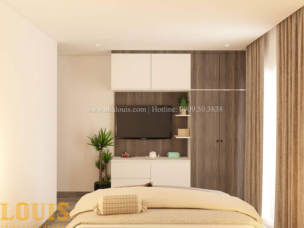 Phòng ngủ Nhà ống mặt tiền 4m phong cách hiện đại tại Quận Bình Thạnh - 75