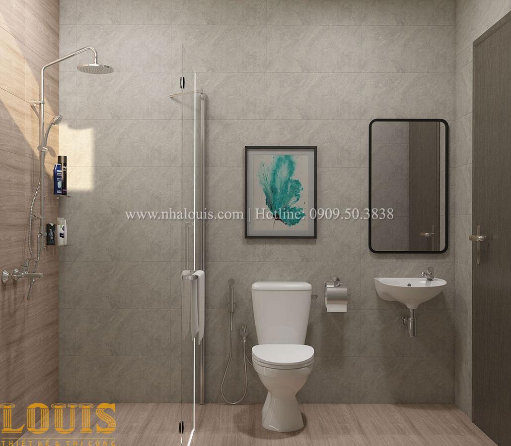 Phòng tắm và WC Nhà ống mặt tiền 4m phong cách hiện đại tại Quận Bình Thạnh - 82