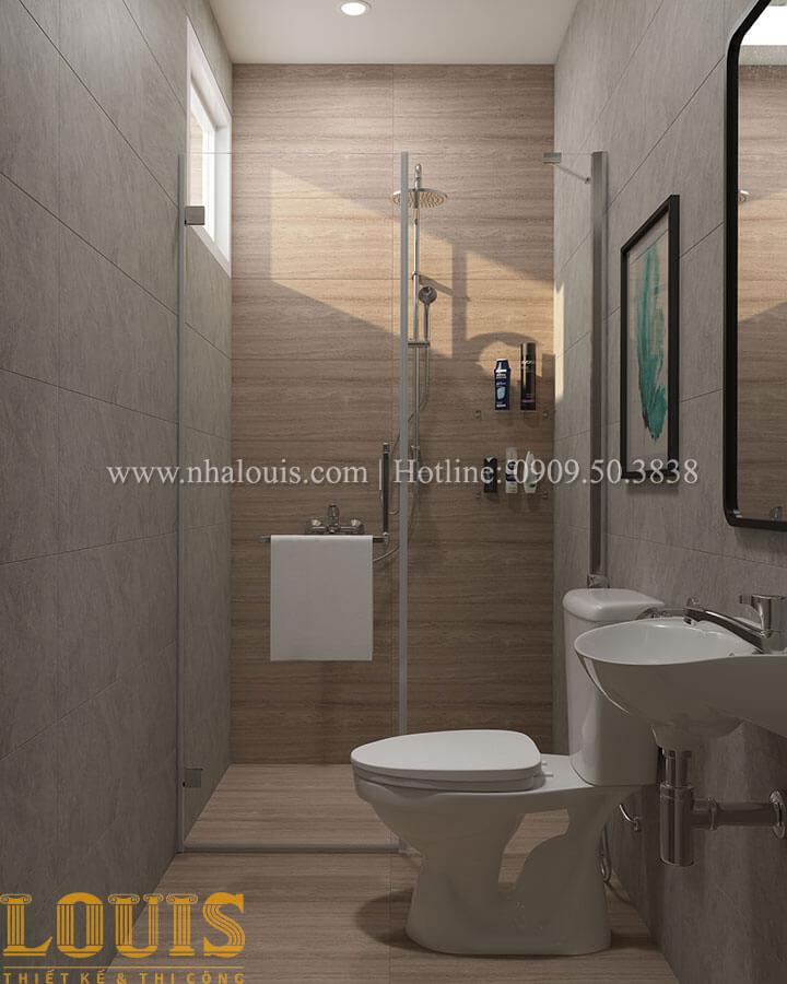 Phòng tắm và WC Nhà ống mặt tiền 4m phong cách hiện đại tại Quận Bình Thạnh - 83