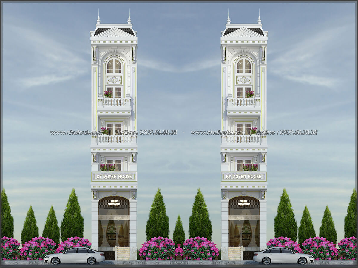 Lạc bước vào 5 mẫu nhà phố bán cổ điển cực quyến rũ và sang trọng