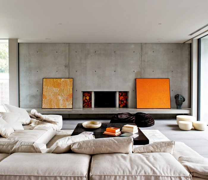 Những mẫu phòng khách ấn tượng với phong cách thiết kế công nghiệp