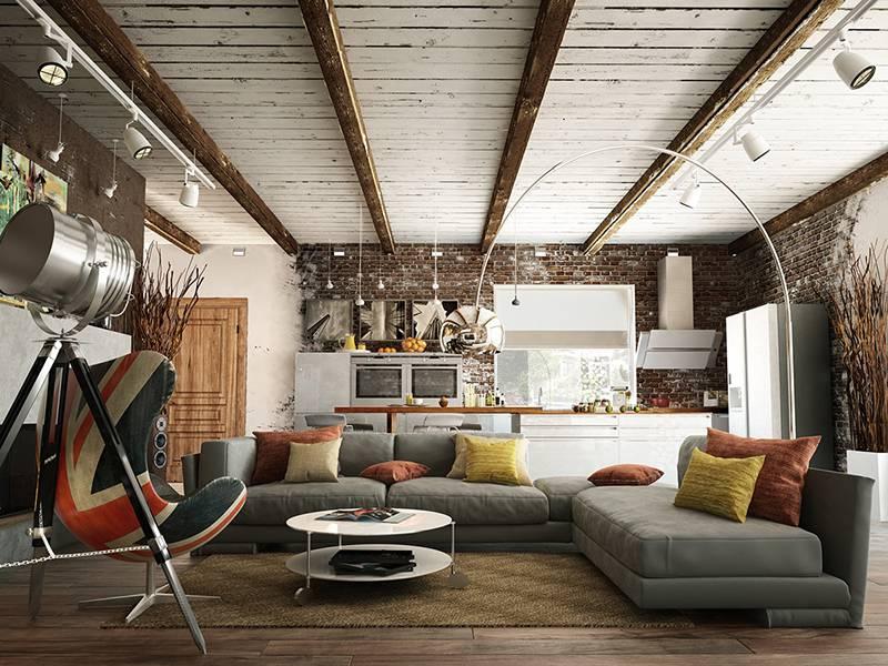 Phong cách Rustic thổi làn gió mới cho thiết kế căn hộ 50m2
