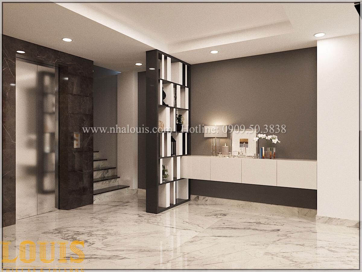 Phòng khách Thiết kế cải tạo nhà phố 6 tầng chuẩn tinh tế tại Quận 11 - 18