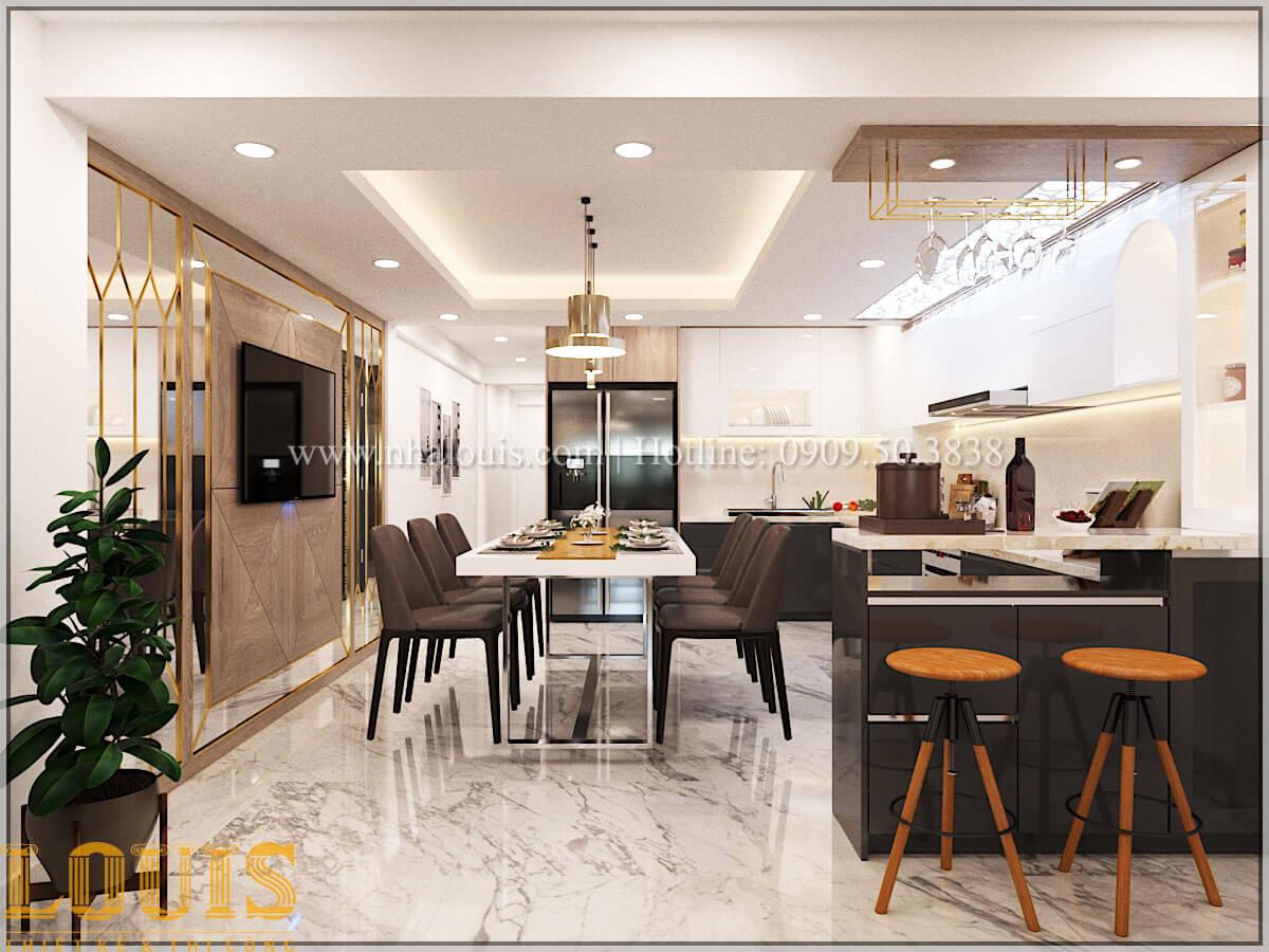 Bếp và phòng ăn Thiết kế cải tạo nhà phố 6 tầng chuẩn tinh tế tại Quận 11 - 21