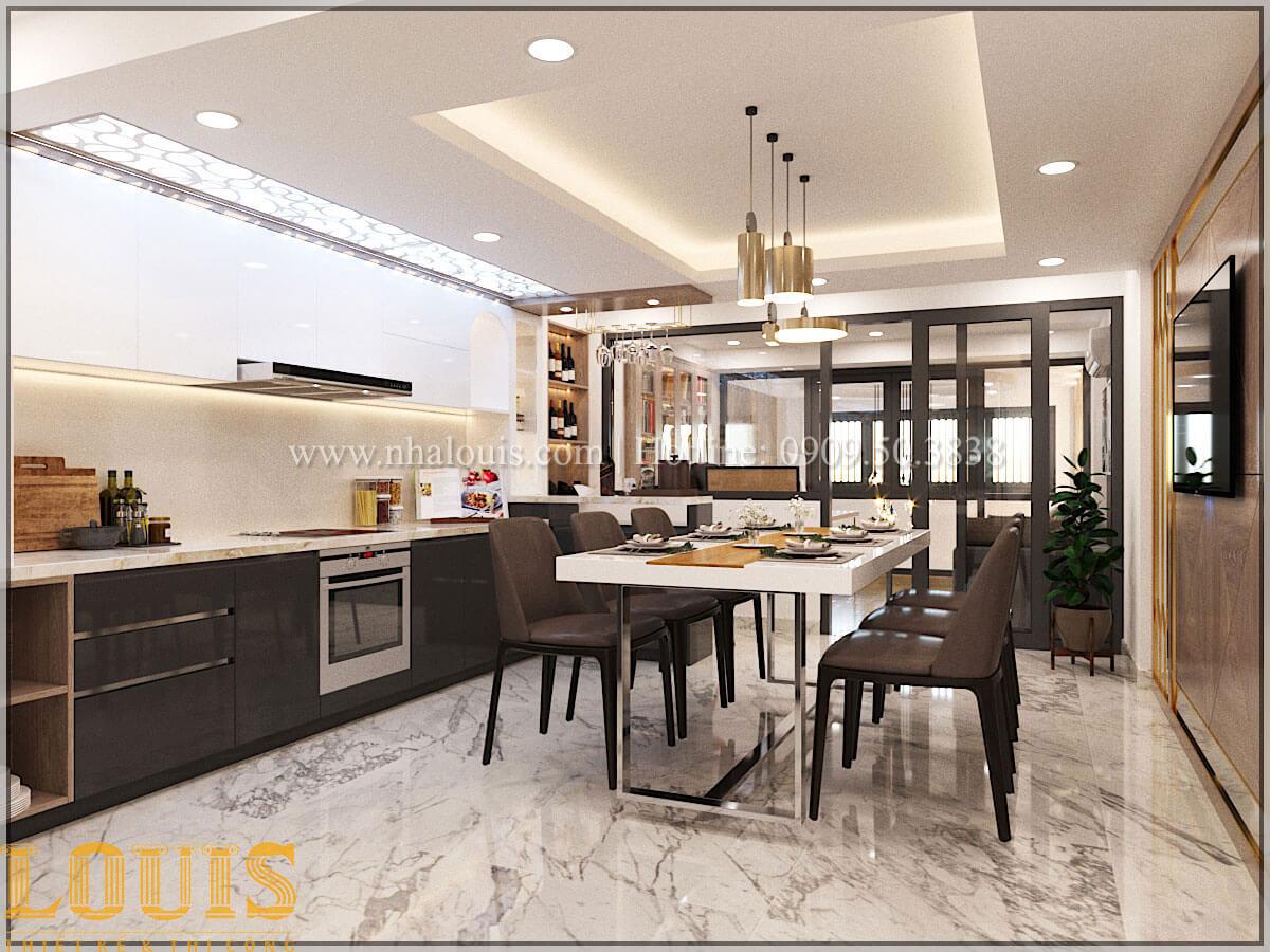 Bếp và phòng ăn Thiết kế cải tạo nhà phố 6 tầng chuẩn tinh tế tại Quận 11 - 22