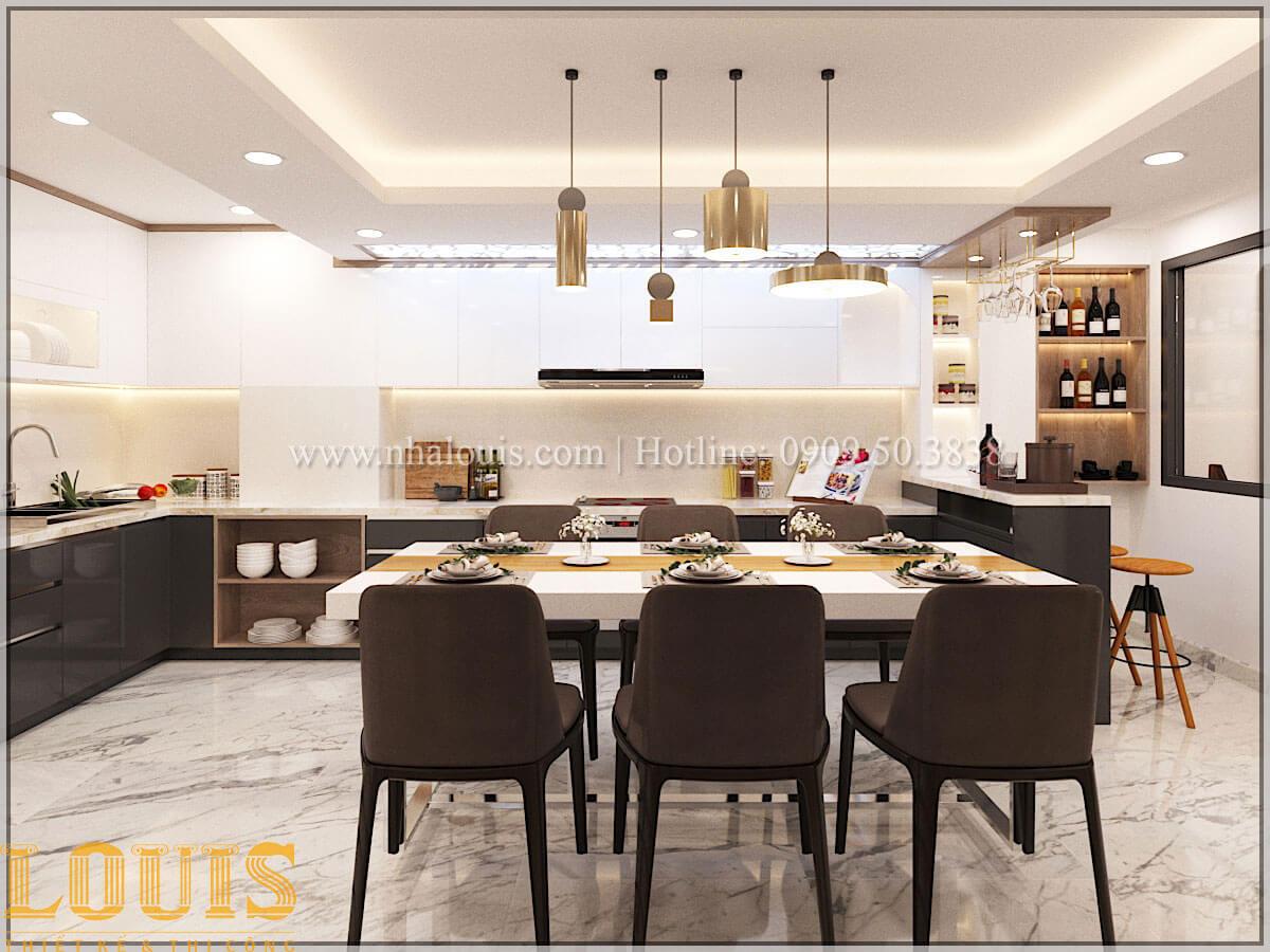 Bếp và phòng ăn Thiết kế cải tạo nhà phố 6 tầng chuẩn tinh tế tại Quận 11 - 23