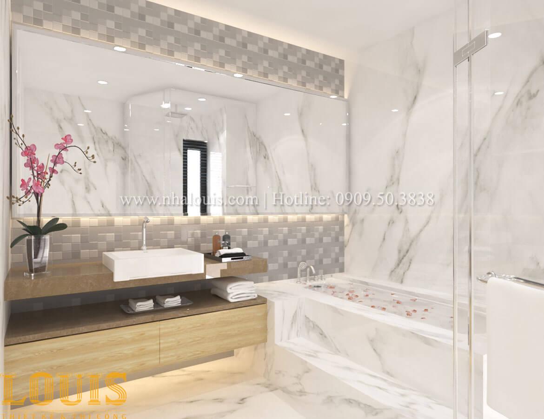 Phòng tắm và WC Thiết kế cải tạo nhà phố 6 tầng chuẩn tinh tế tại Quận 11 - 34