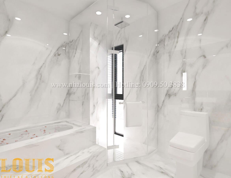 Phòng tắm và WC Thiết kế cải tạo nhà phố 6 tầng chuẩn tinh tế tại Quận 11 - 35