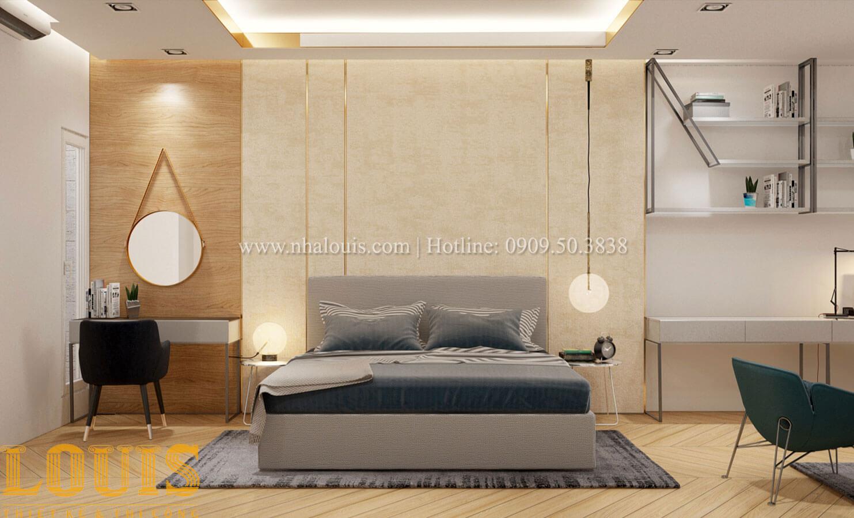 Phòng ngủ con trai Thiết kế cải tạo nhà phố 6 tầng chuẩn tinh tế tại Quận 11 - 36