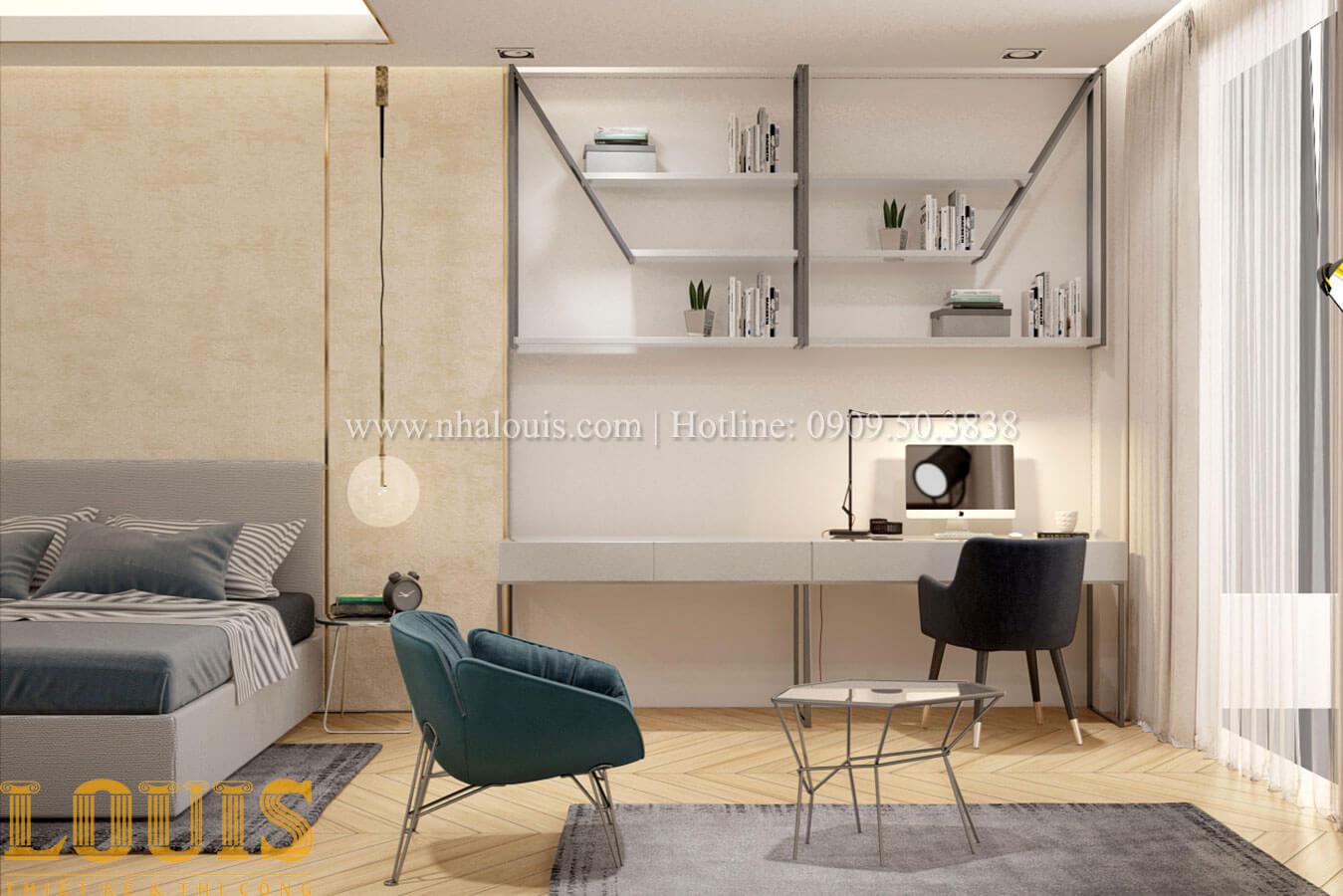 Phòng ngủ con trai Thiết kế cải tạo nhà phố 6 tầng chuẩn tinh tế tại Quận 11 - 37