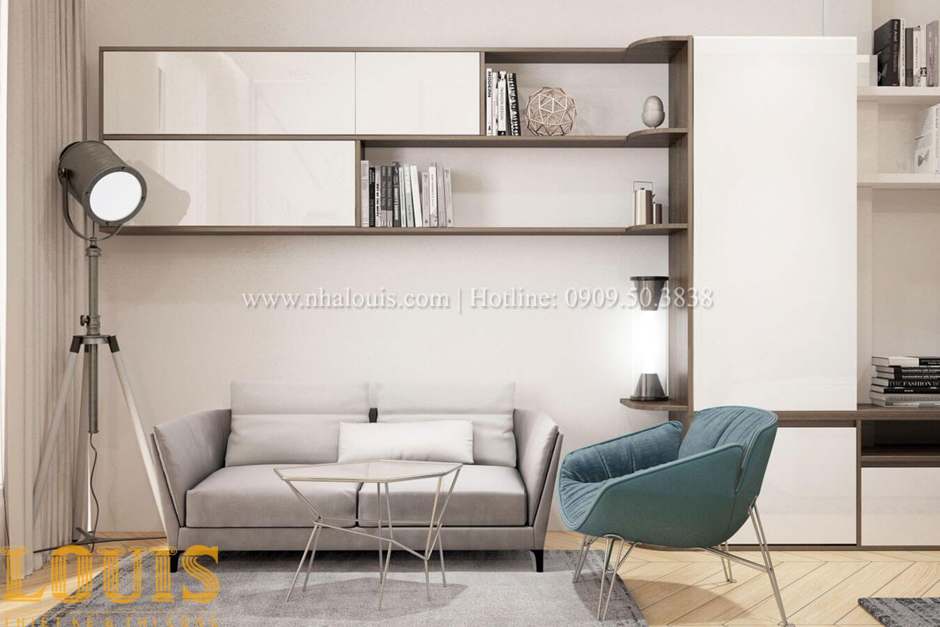 Phòng ngủ con trai Thiết kế cải tạo nhà phố 6 tầng chuẩn tinh tế tại Quận 11 - 39