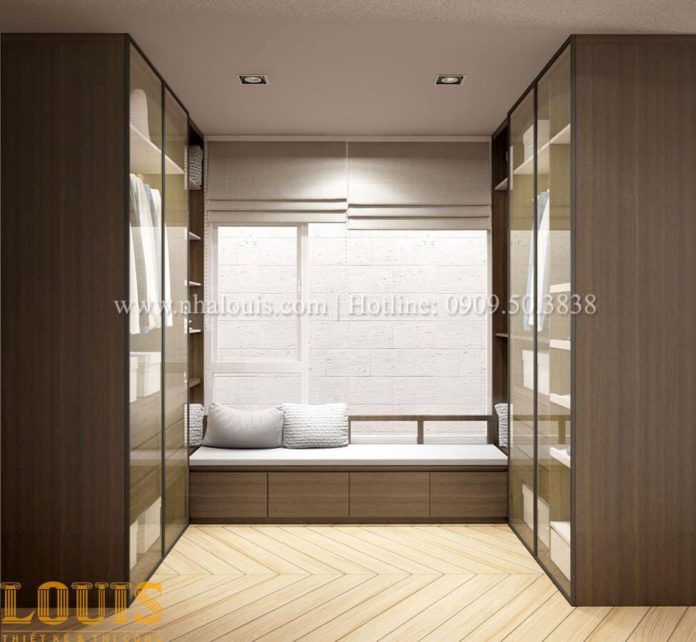 Phòng ngủ con trai Thiết kế cải tạo nhà phố 6 tầng chuẩn tinh tế tại Quận 11 - 40