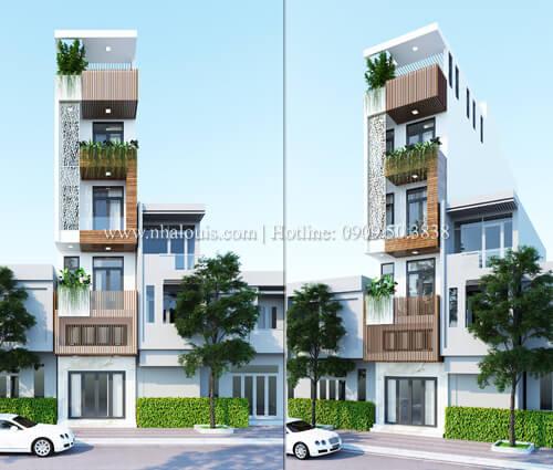 Thiết kế cải tạo nhà phố 6 tầng chuẩn tinh tế tại Quận 11