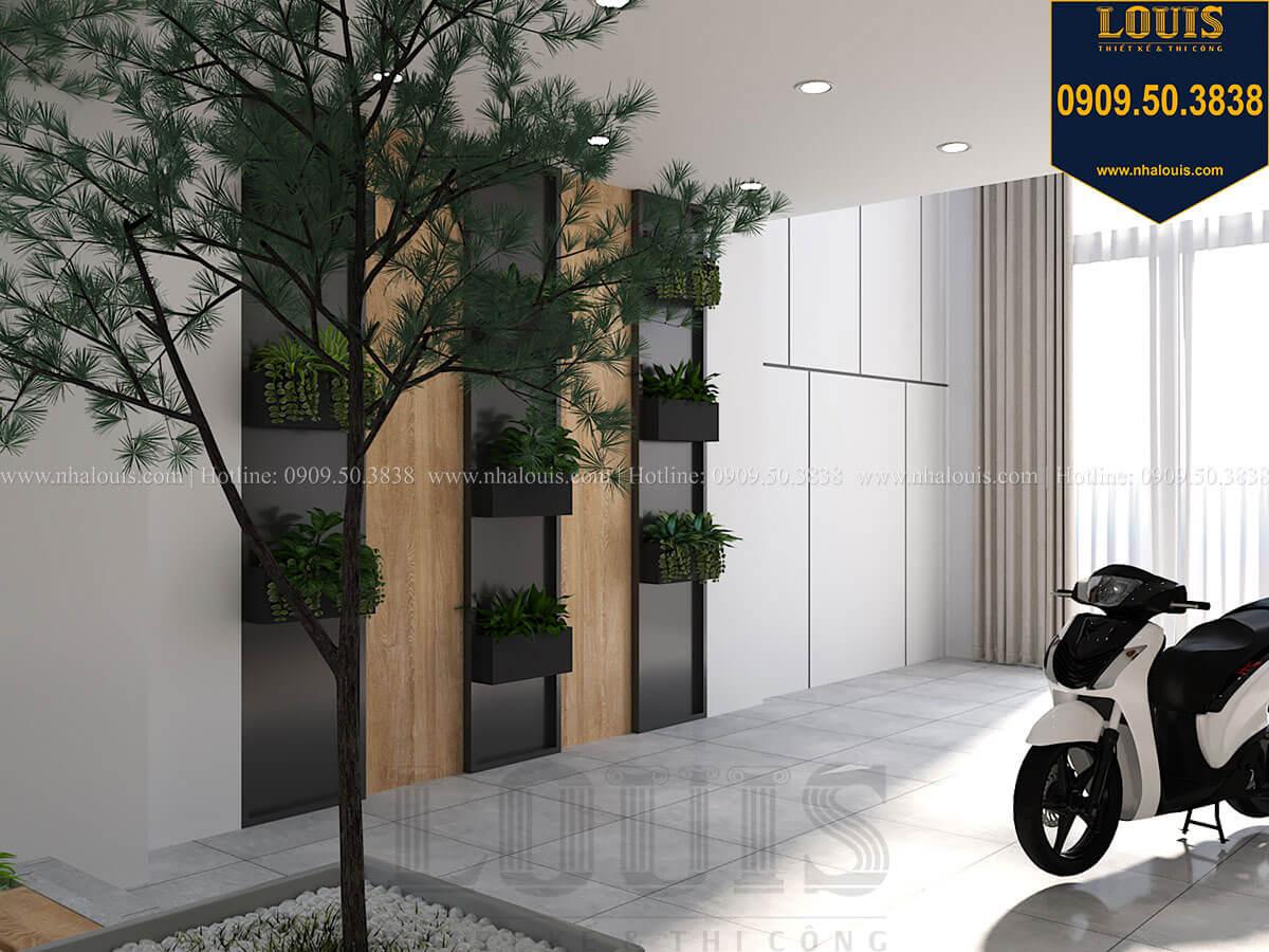 gara Nhà đơn giản nhưng tinh tế với không gian mở tại Tân Bình - 17