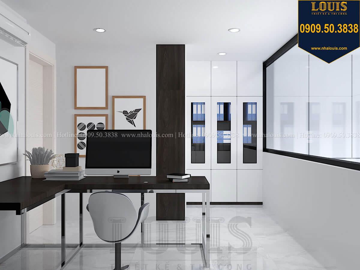 Phòng làm việc Nhà đơn giản nhưng tinh tế với không gian mở tại Tân Bình - 20