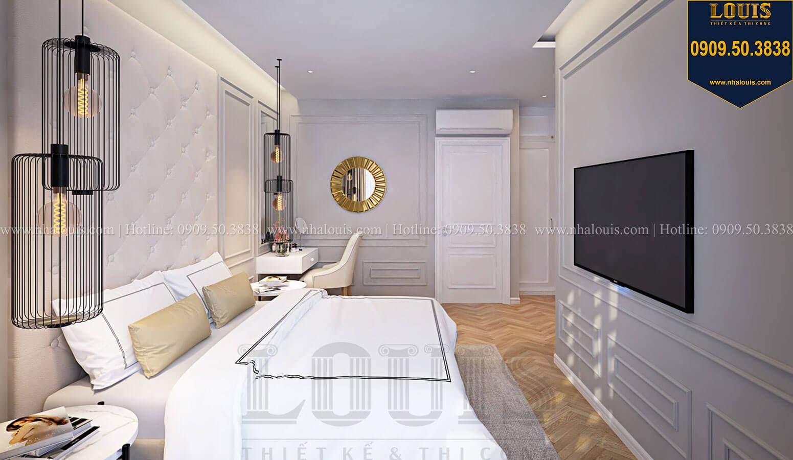 Phòng ngủ master Nhà đơn giản nhưng tinh tế với không gian mở tại Tân Bình - 23