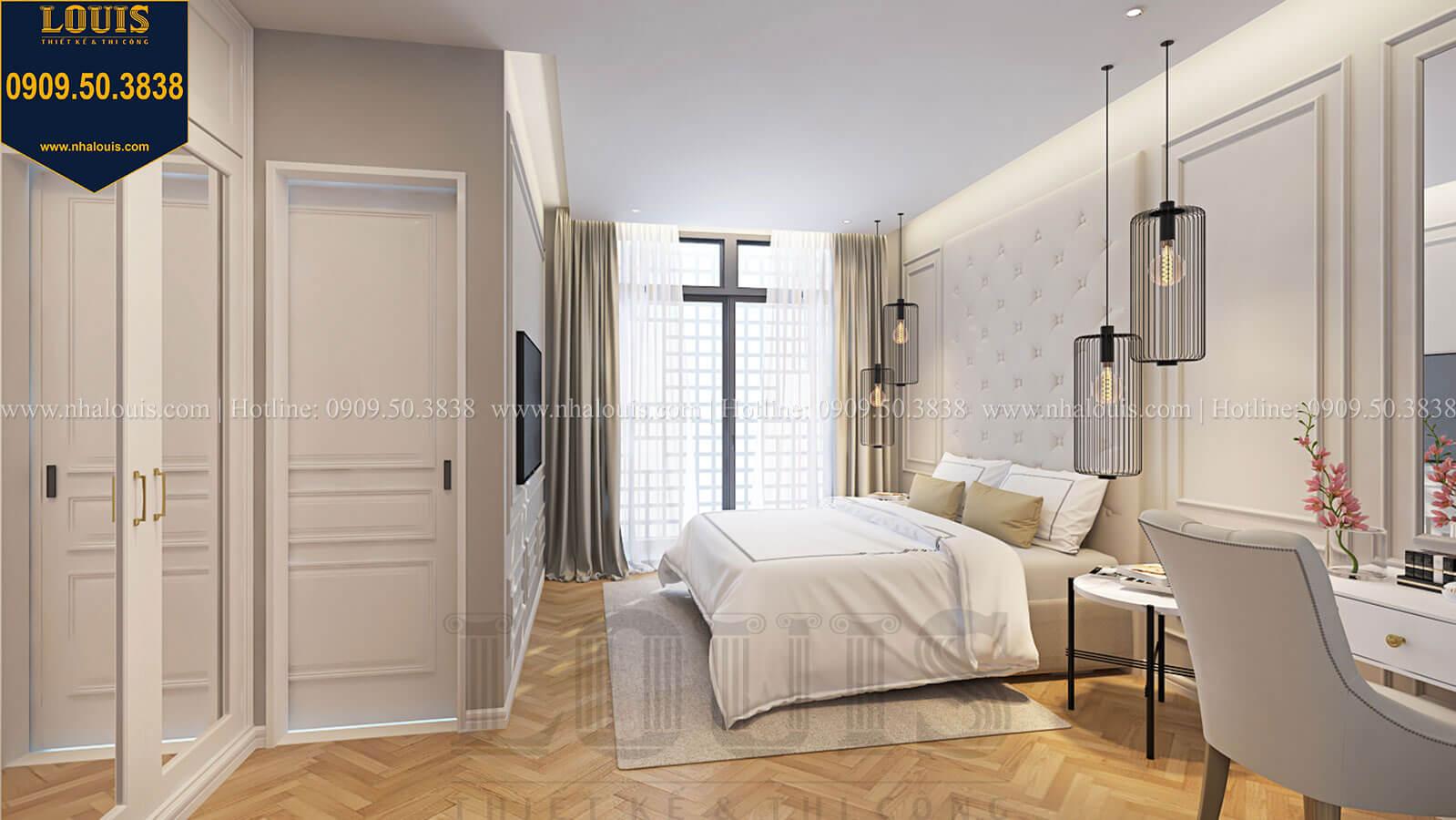 Phòng ngủ master Nhà đơn giản nhưng tinh tế với không gian mở tại Tân Bình - 24