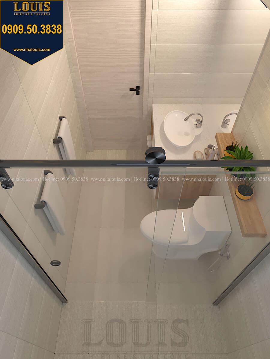 Phòng tắm và WC Nhà đơn giản nhưng tinh tế với không gian mở tại Tân Bình - 26