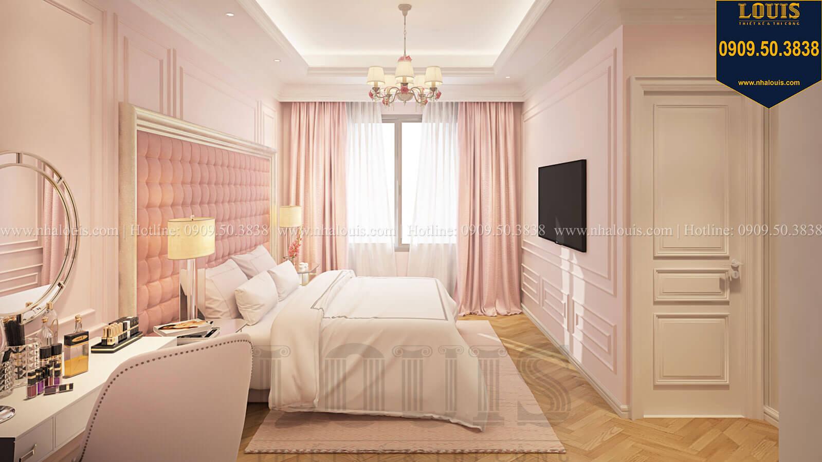 Phòng ngủ con gái Nhà đơn giản nhưng tinh tế với không gian mở tại Tân Bình - 30