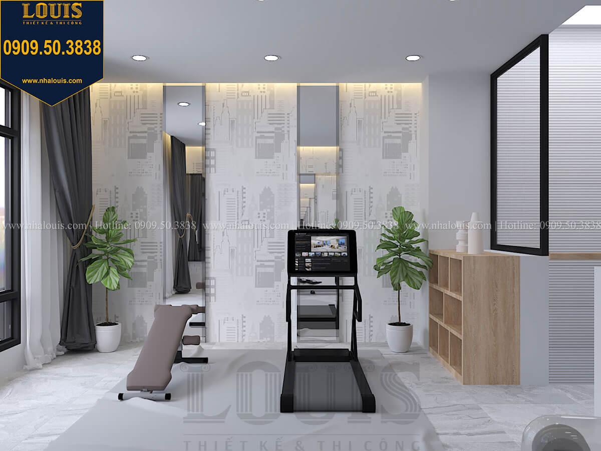 Phòng tập gym Nhà đơn giản nhưng tinh tế với không gian mở tại Tân Bình - 34