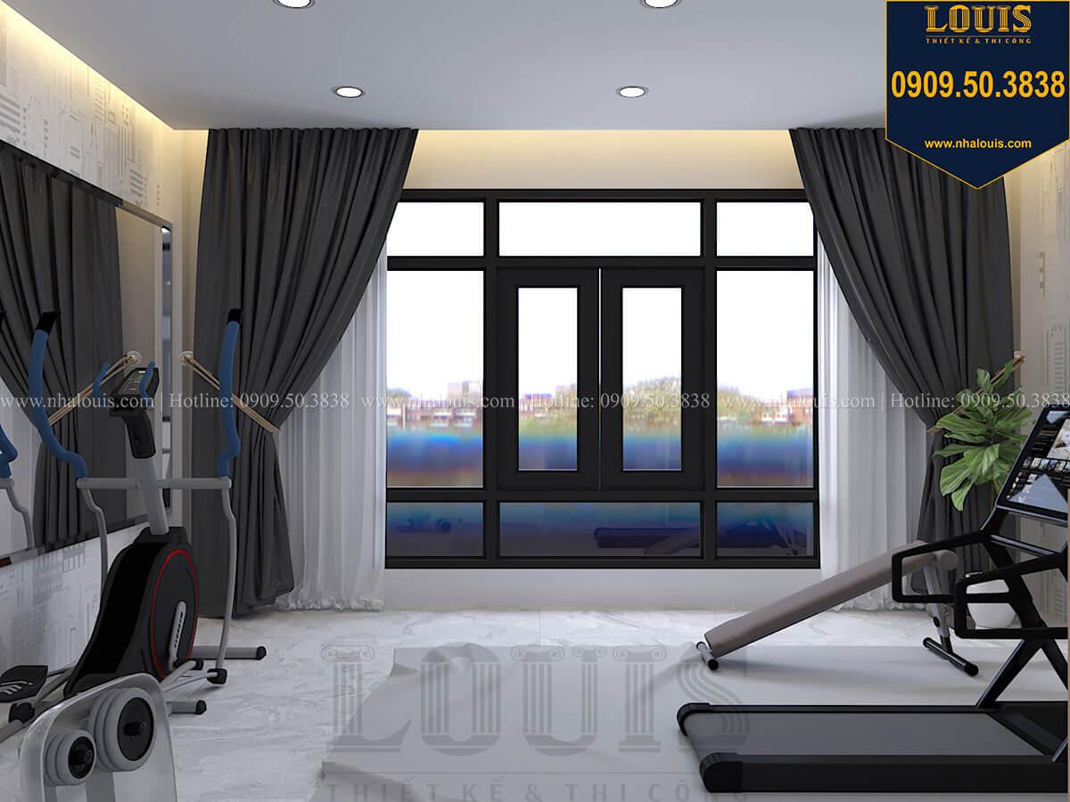 Phòng tập gym Nhà đơn giản nhưng tinh tế với không gian mở tại Tân Bình - 35