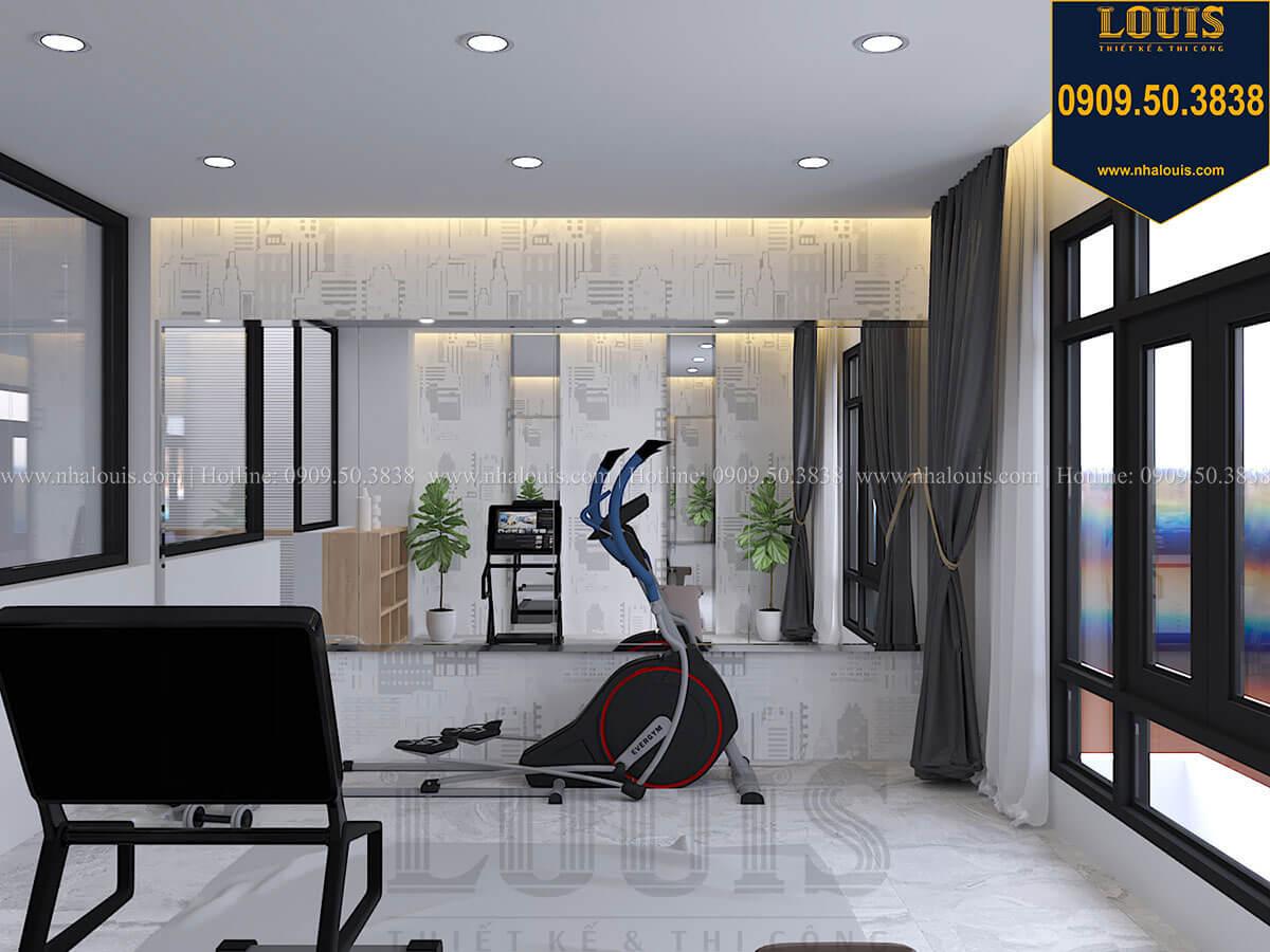Phòng tập gym Nhà đơn giản nhưng tinh tế với không gian mở tại Tân Bình - 36