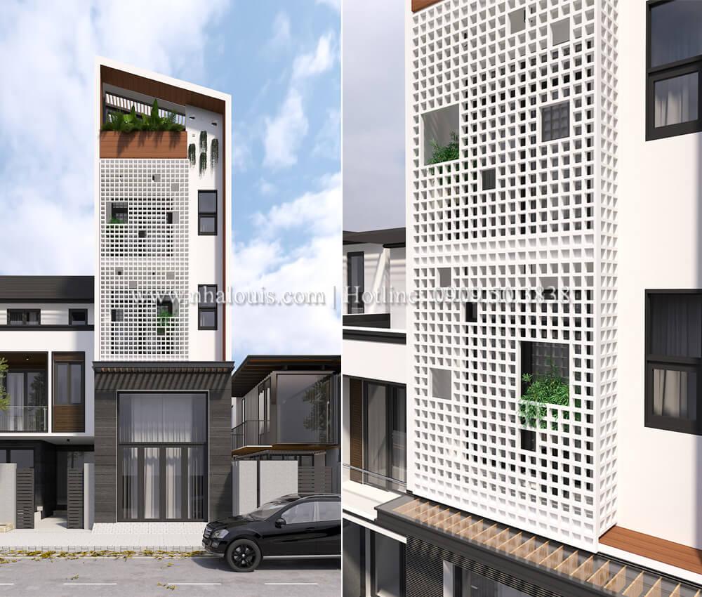 Thiết kế nhà đơn giản tinh tế với không gian mở tại Tân Bình